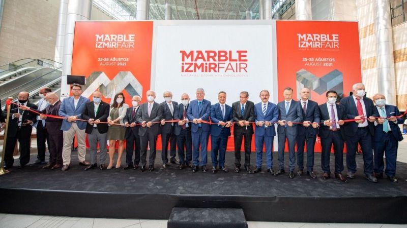 26.Marble İzmir Fuarı açıldı