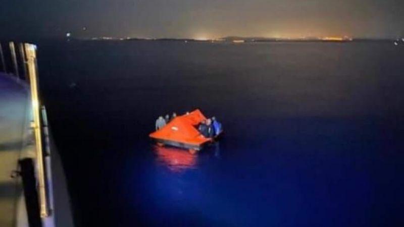 Yunanistan sığınmacıları Türk Karasularına attı