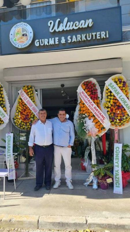 Uslucan Gurme& Şarküteri açıldı
