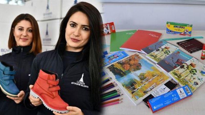 İzmir Büyükşehir Belediyesi, 20 bin öğrenciye eğitim kart, mont ve bot dağıtacak