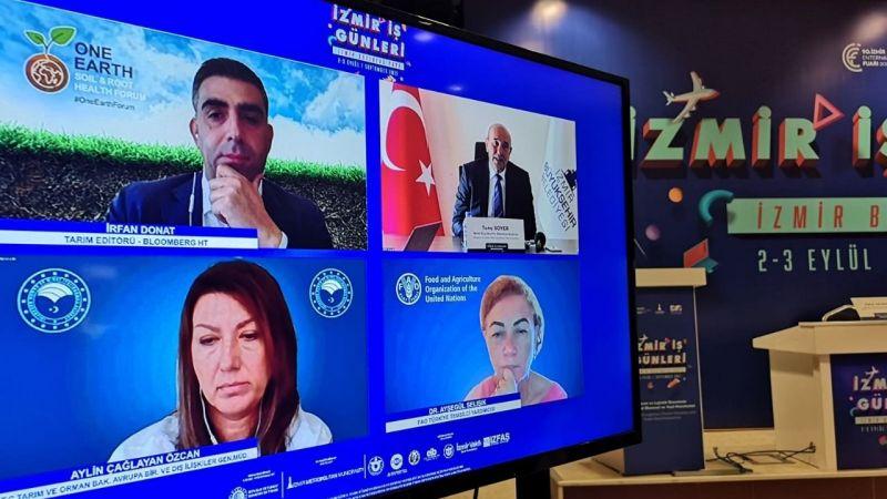 Başkan Soyer İEF İş Günleri'nde konuştu: İzmir Tarımı dünyaya ilham olsun