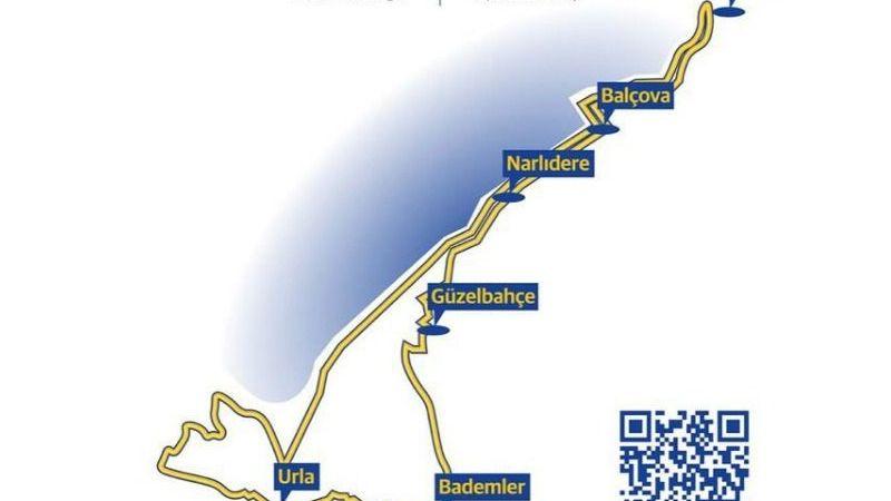 İzmir-Urla arasında trafiğe çıkarken dikkat!