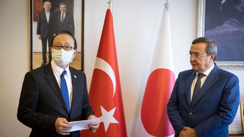 Türk Japon Dostluğu'na bir katkı da Başkan Batur'dan