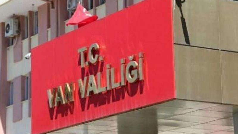 Van Valiliği bazı etkinlikleri 15 gün süreyle yasakladı