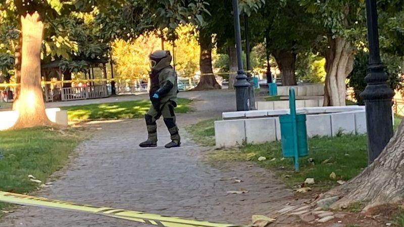 Gaziantep'te bombalı eylem engellendi