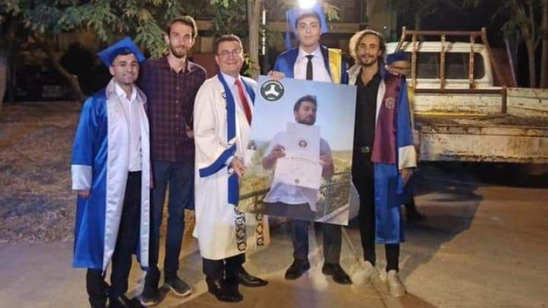 Urla'dan Giresun'a online diploma töreni