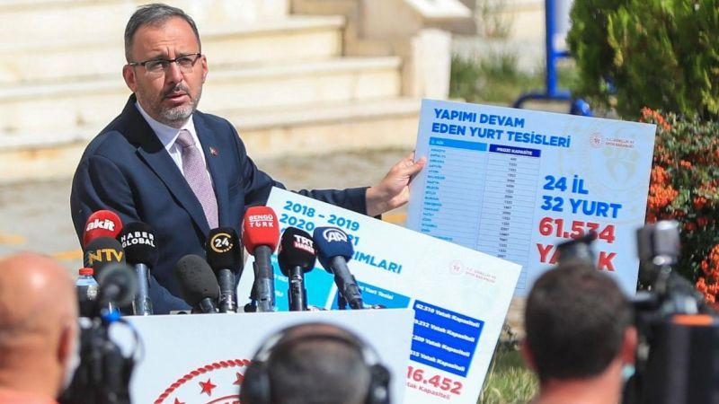 """Bakan Kasapoğlu: """"Muhalefet yurt konusunu istismar ediyor"""""""