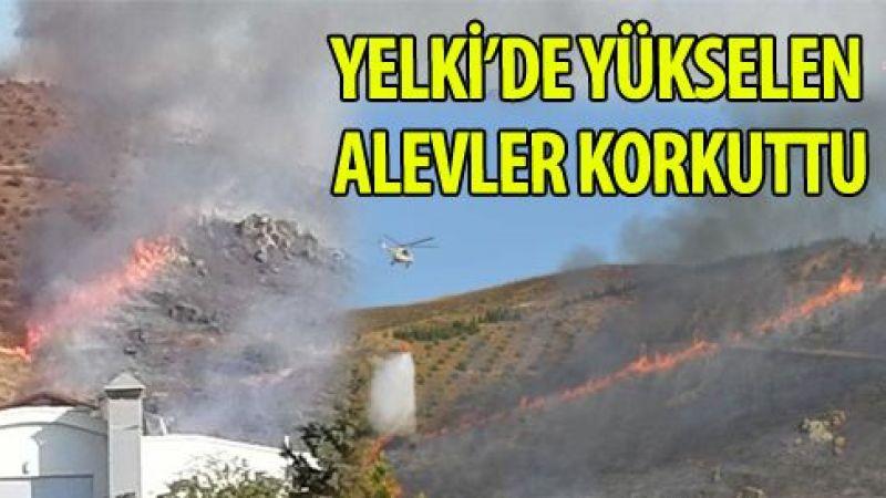 İzmir Bayraktepe'deki orman yangını kontrol altına alındı