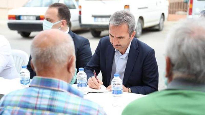 Başkan v. Kaymakam Dayanç mahalle gezilerine devam ediyor