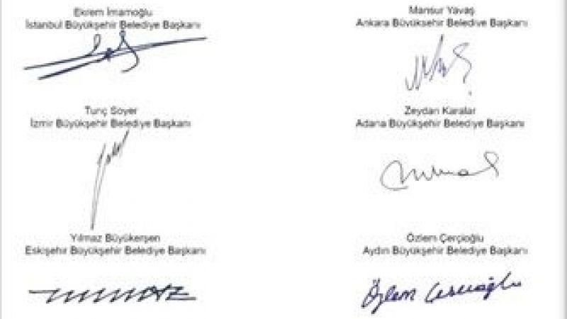CHP'li büyükşehir belediye başkanları Hatay'da toplandı