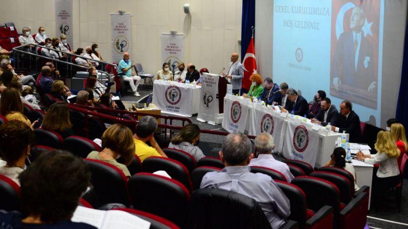İzmir Eczacı Odası Sayılkan'la devam