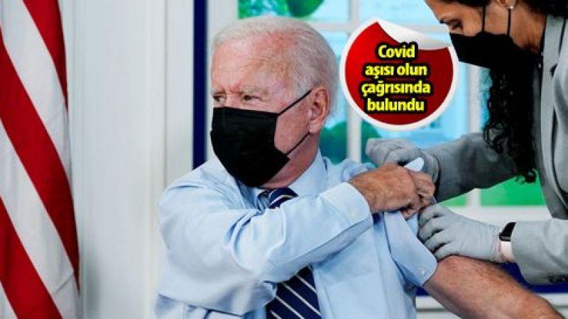 ABD Başkanı Biden, 3. doz Covid-19 aşısı vuruldu