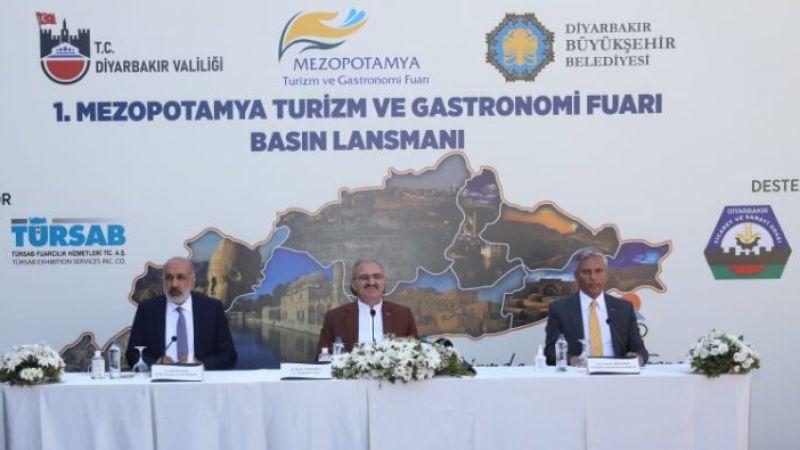 1.Mezopotamya Turizm ve Gastronomi Fuarı Lansmanı yapıldı