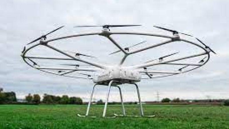 Yük taşıma dronu test edildi