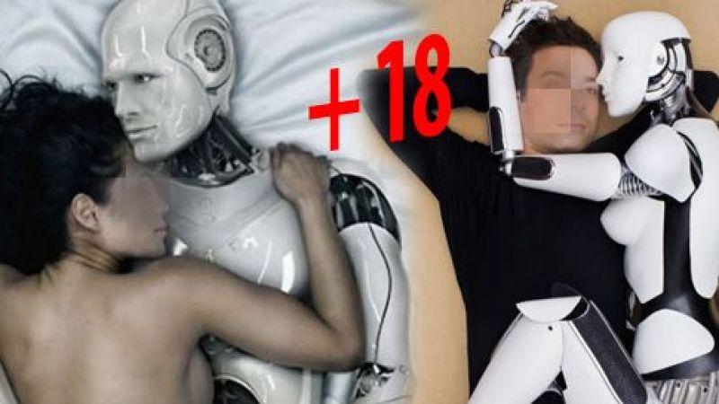 Robotla seks yapma eğiliminde çarpıcı sonuç