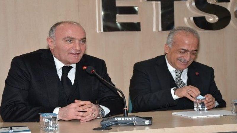 Rektör Çomaklı ETSO Meclisi'ne konuk oldu