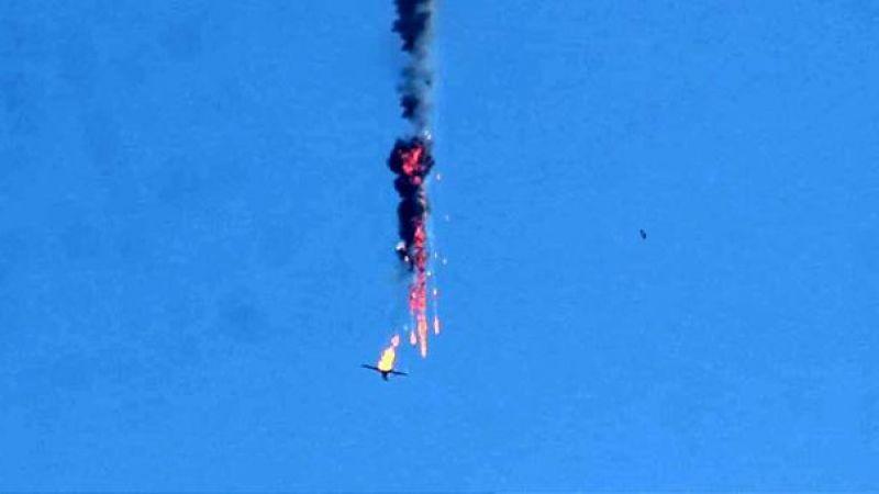 Son dakika: İdlib'de Esed'e ait Rus yapımı savaş uçağı düşürüldü