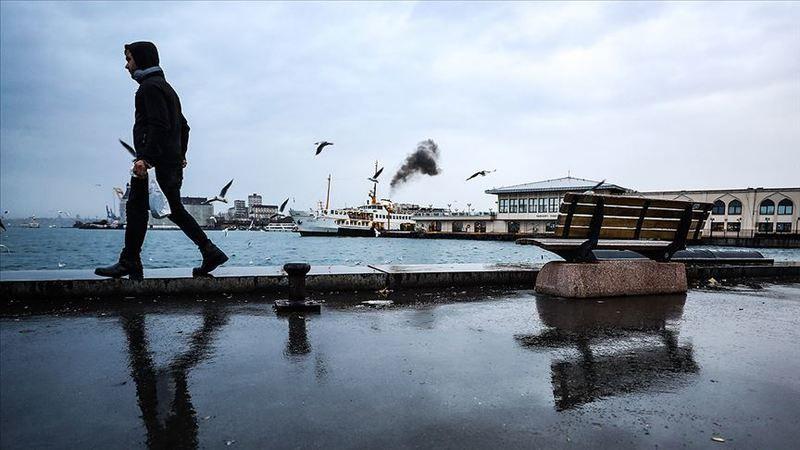 Yarın yağış beklenen İstanbul'da sıcaklıklar da düşecek