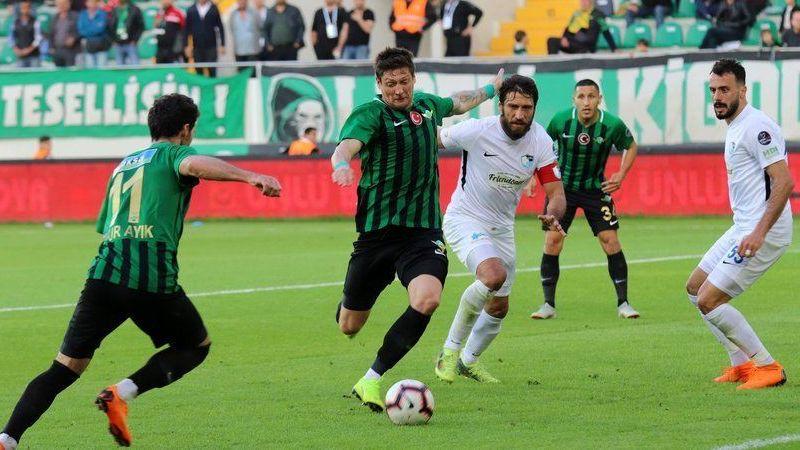 Akhisarspor-Büyükşehir Belediye Erzurumspor: 0-0