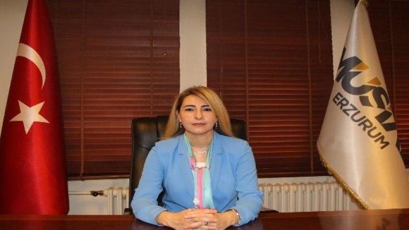 MÜSİAD Erzurum Kadın Çalışma Kurulu Başkanlığına Zeynep Polat getirildi