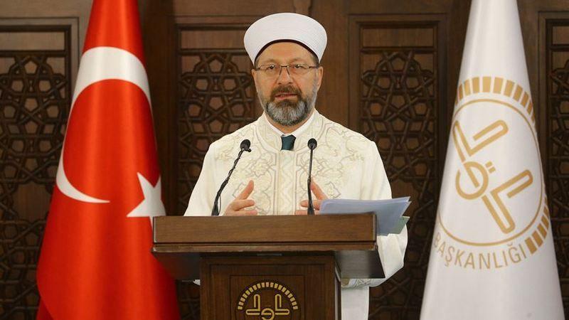 Diyanet İşleri Başkanı Erbaş'tan cuma mesajı