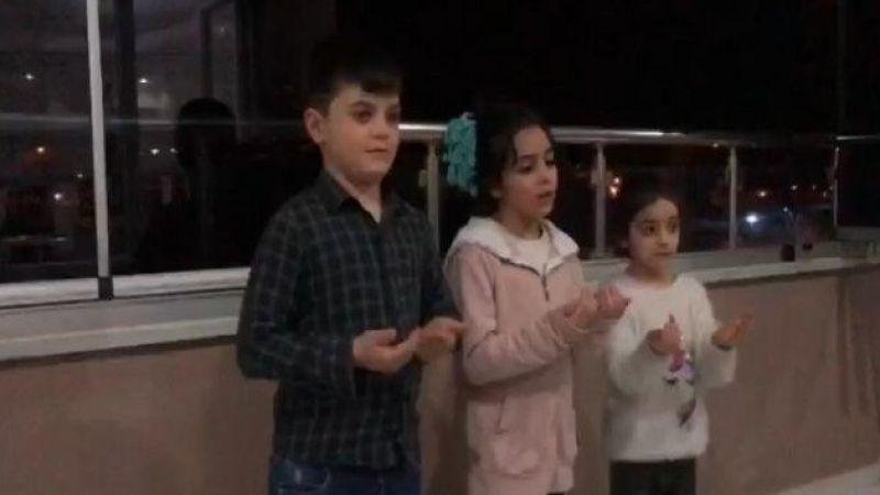 Erzurumlu minkler 'Korona'ya karşı dua etti