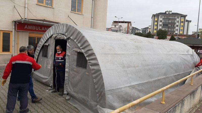 Korona virüs hastaneye girmeden teşhis edilecek