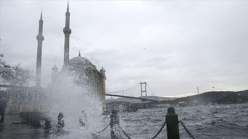 Marmara Bölgesinde fırtına bekleniyor