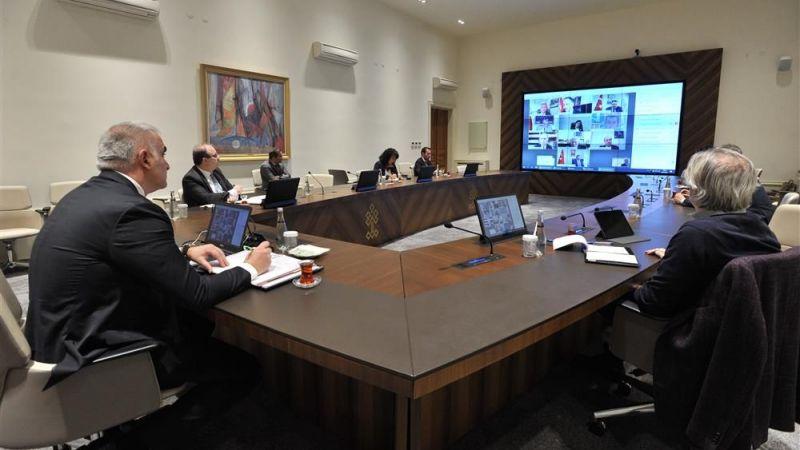 Kültür ve Turizm Bakanı Sayın  Ersoy İl Kültür ve Turizm Müdürleri ile Telekonferans Sistemi ile Görüştü.