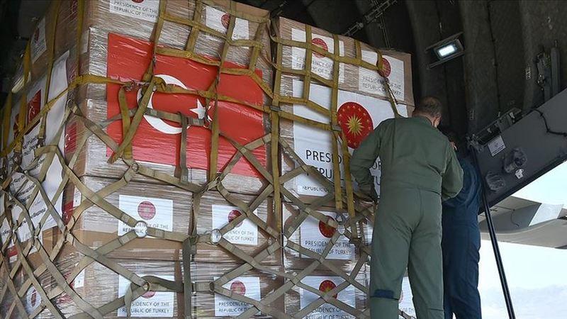 Türkiye'nin gönderdiği tıbbi yardım 5 Balkan ülkesine teslim edildi