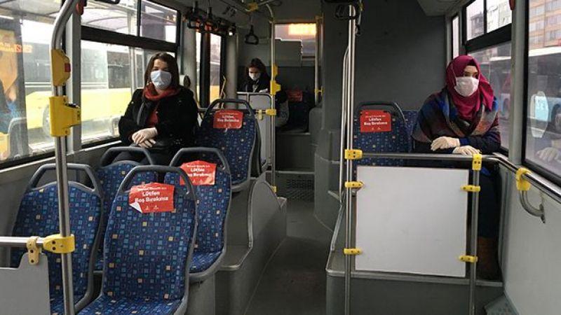 İstanbul Valiliğinden toplu taşıma araçlarındaki yeni tedbirlere ilişkin paylaşım