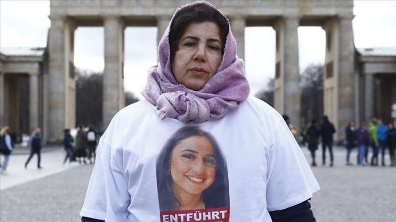 Almanya'da yaşayan anneden terör örgütü PKK'nın kaçırdığı kızına görüntülü mesaj
