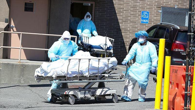 ABD'de koronavirüsten ölenlerin sayısı 25 bini aştı
