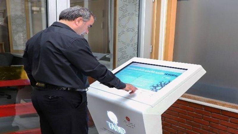 Tabip Box Kiosku, Atatürk Üniversitesi'nde hizmete açıldı