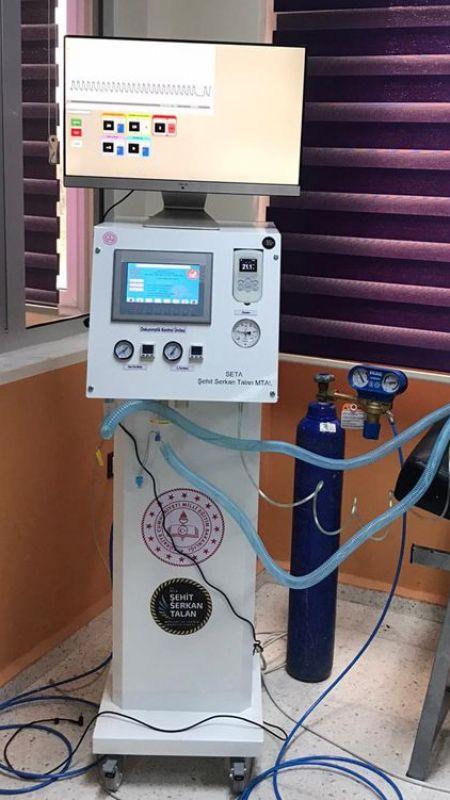 MEB solunum cihazı üretti