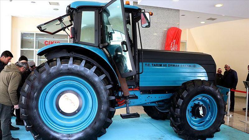 İlk elektrikli traktör bu yıl üretim bandından inecek