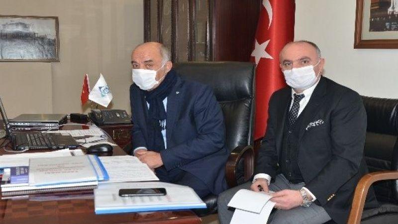 Telekonferansla Erzurum ekonomi zirvesi