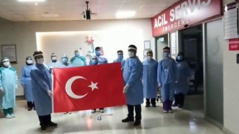 Pasinler İbrahim Hakkı Devlet Hastanesinden anlamlı paylaşım