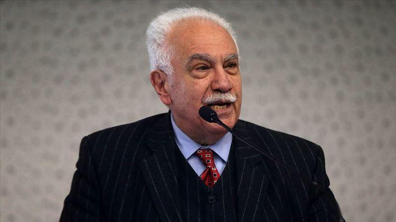 Vatan Partisi Genel Başkanı Doğu Perinçek'ten Diyanete destek