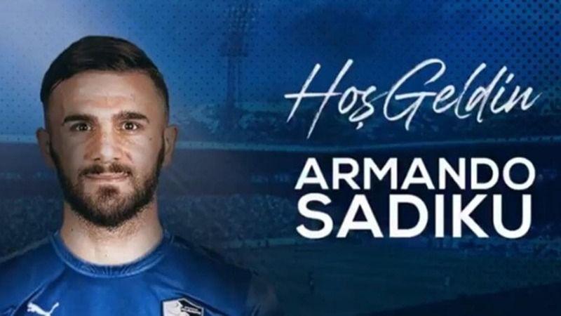 Dadaş'ın yeni golcüsü Sadiku