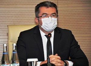 Vali Memiş Erzurum'un günlük vaka ve ölüm sayıları Türkiye ortalamasının altında