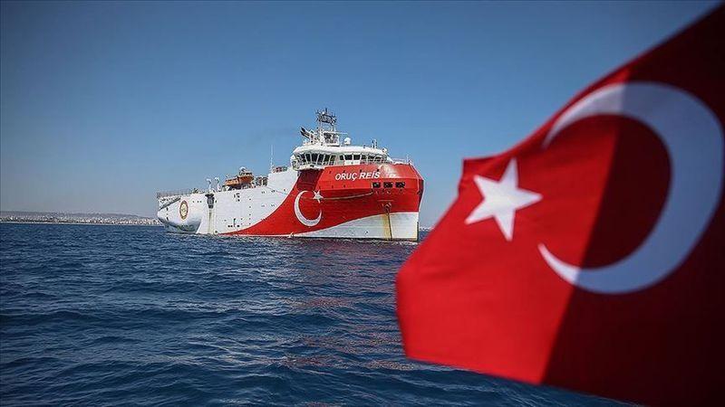 Oruç Reis Antalya Limanı'na döndü