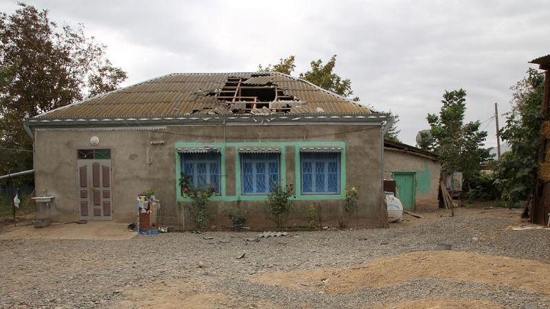 Ermenistan'ın saldırılarında hedef olan evler