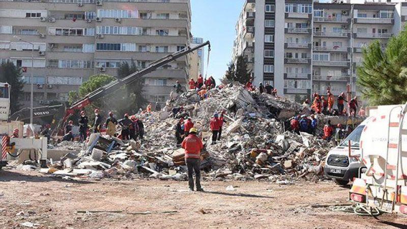 İzmir'de yıkılan binalarla ilgili 9 gözaltı