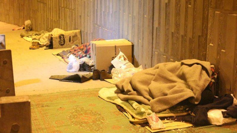 İşsiz ve evsizler