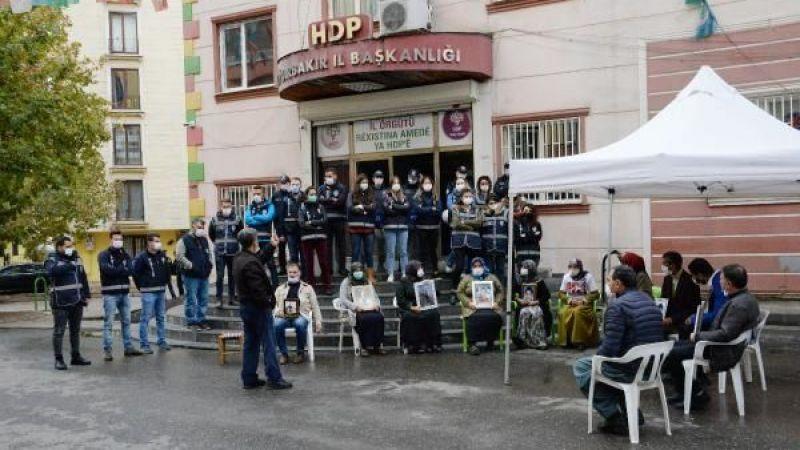 Evlat nöbetindeki ailelerden HDP'ye 'ajanda' tepkisi