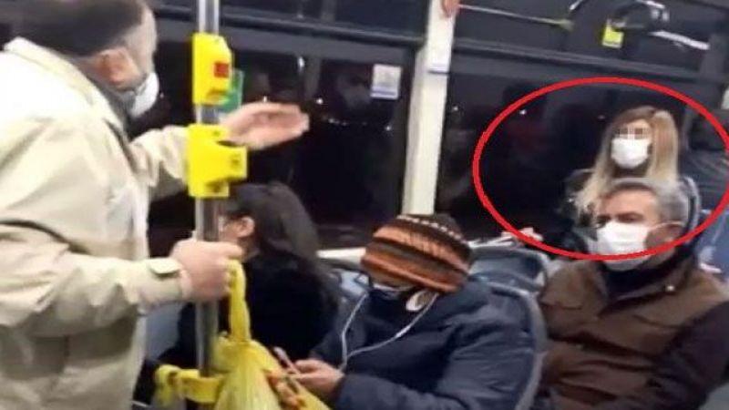 Belediye otobüsünde 'koronavirüs' paniği