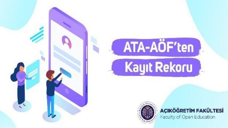 ATA-AÖF'ten kayıt rekoru