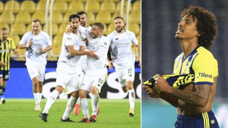 Konyaspor'dan Fenerbahçe'ye çelme