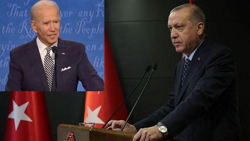 Cumhurbaşkanı Erdoğan'dan, ABD Başkanı Biden'a tebrik mesajı